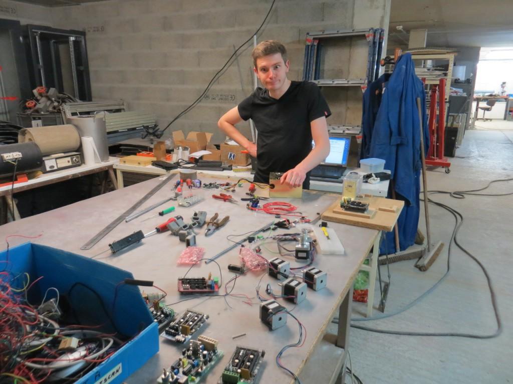 Le câblage du proto Electrorap V1 a été démêlé... non sans peine